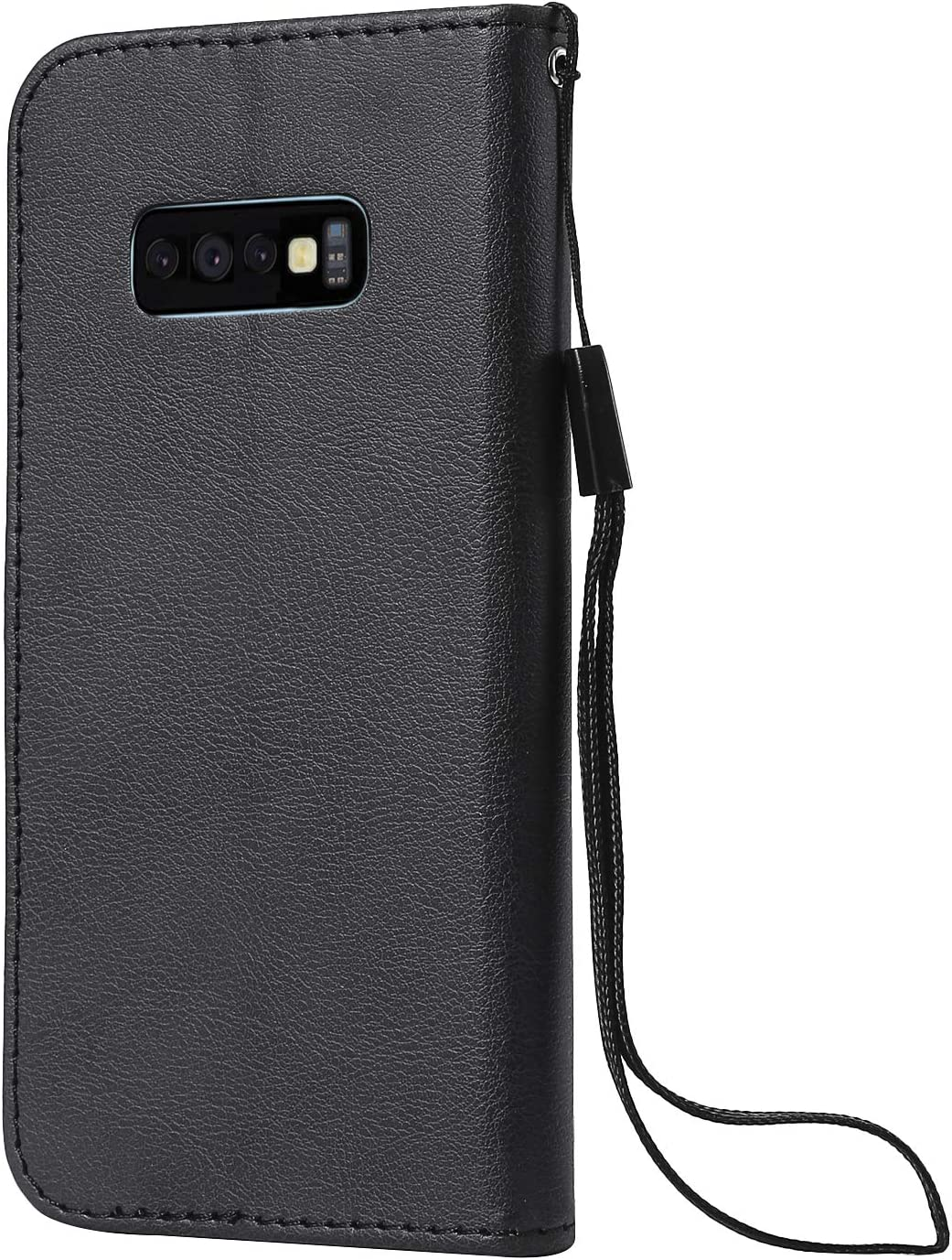 NEXCURIO Galaxy S10e Wallet Case with Card Holder Folding Kickstand Leather Case Flip Cover for Samsung Galaxy S10e NEKTU20887 Black