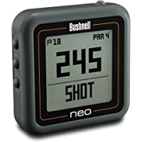 Bushnell Unisex's Compact Neo Ghost Preloaded Worldwide Mapping Golf GPS, Charcoal