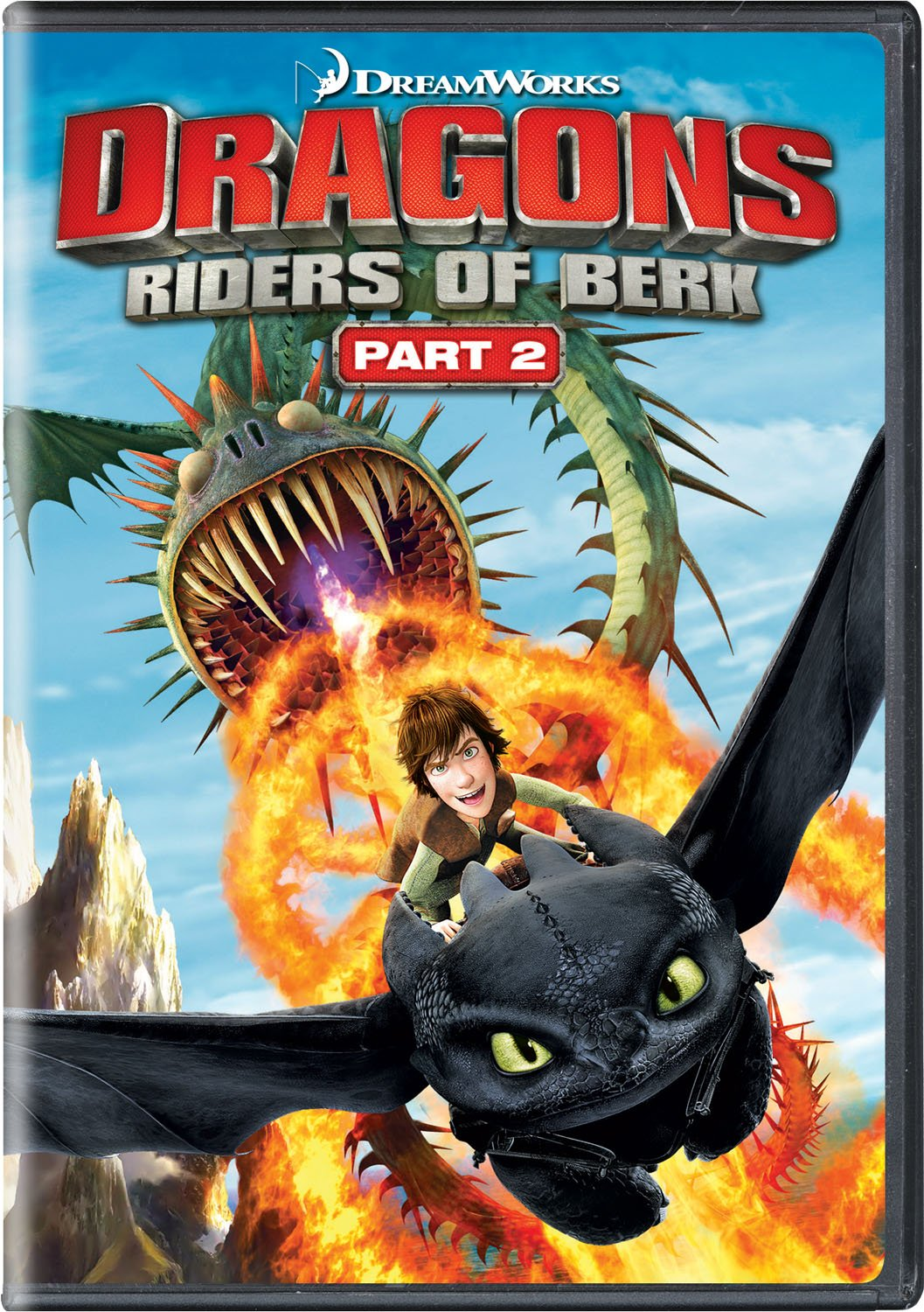 DVD : Dragons: Riders of Berk - Part 2 (Widescreen, Dolby, AC-3, 2 Pack, )