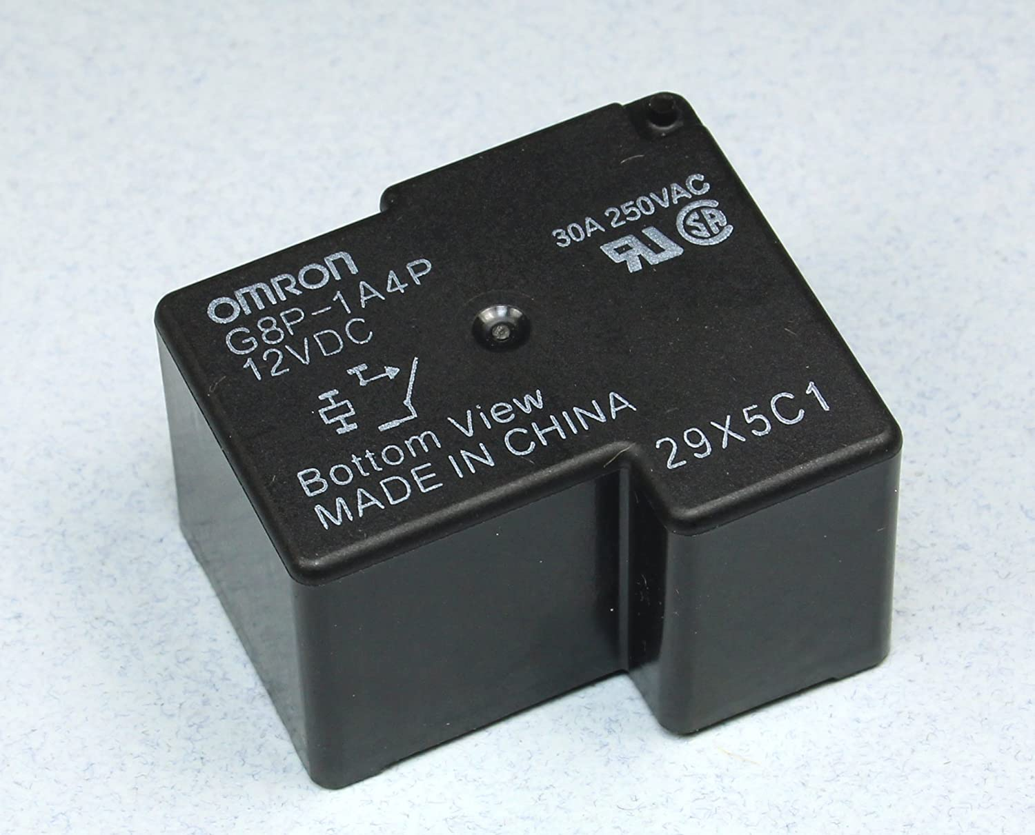 Advanced Electronics (RR #58) Omron General Purpose Relay, G8P-1A4P-12VDC 30A 250VAC