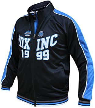 Amazon.com: RDX Mens Zip Up Jumper Sweatshirt Top Training ...