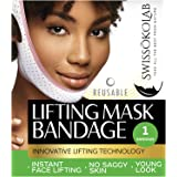 Reusable Face Slimming Strap Double Chin Reducer V Line Mask Chin Up Patch Chin Mask V Up Contour Tightening Firming…