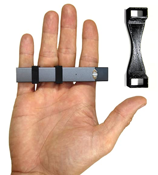 Juul Holder | Vape Ring Compatible with The JUUL | Always Keep Your JUUL  Vaporizer at Hand with This Anti-Loss Carrier | Made in The US (Juul Device