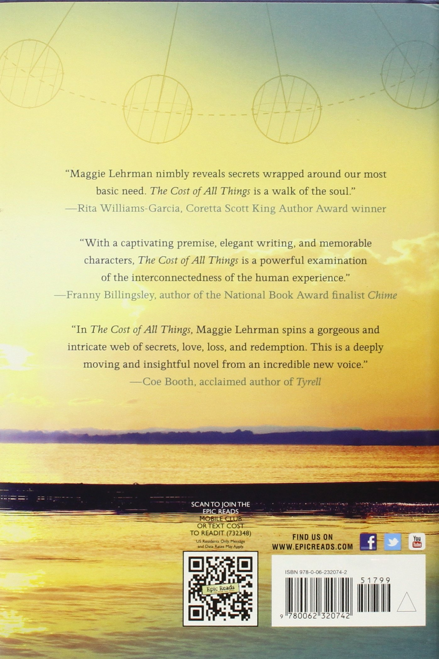 Amazon: The Cost Of All Things (9780062320742): Maggie Lehrman: Books