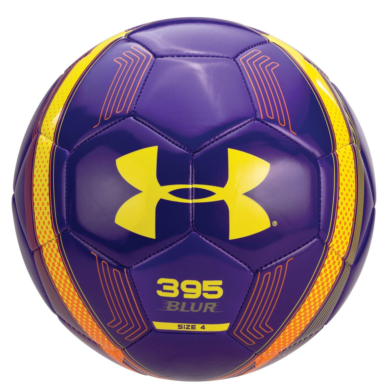 Under Armour 395 Blur balón de fútbol, tamaño 4, Caspian púrpura ...