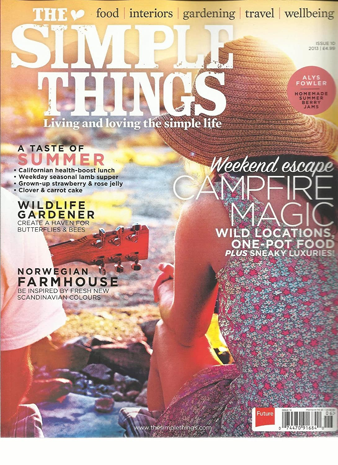 THE SIMPLE THINGS, ISSUE, 10 (LIVING AND LOVING THE SIMPLE LIFE) WEEKEND ESCAPE s3457