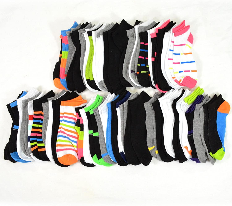 TeeHee Socks 50 Pairs Various Sample Socks Valuable Packs