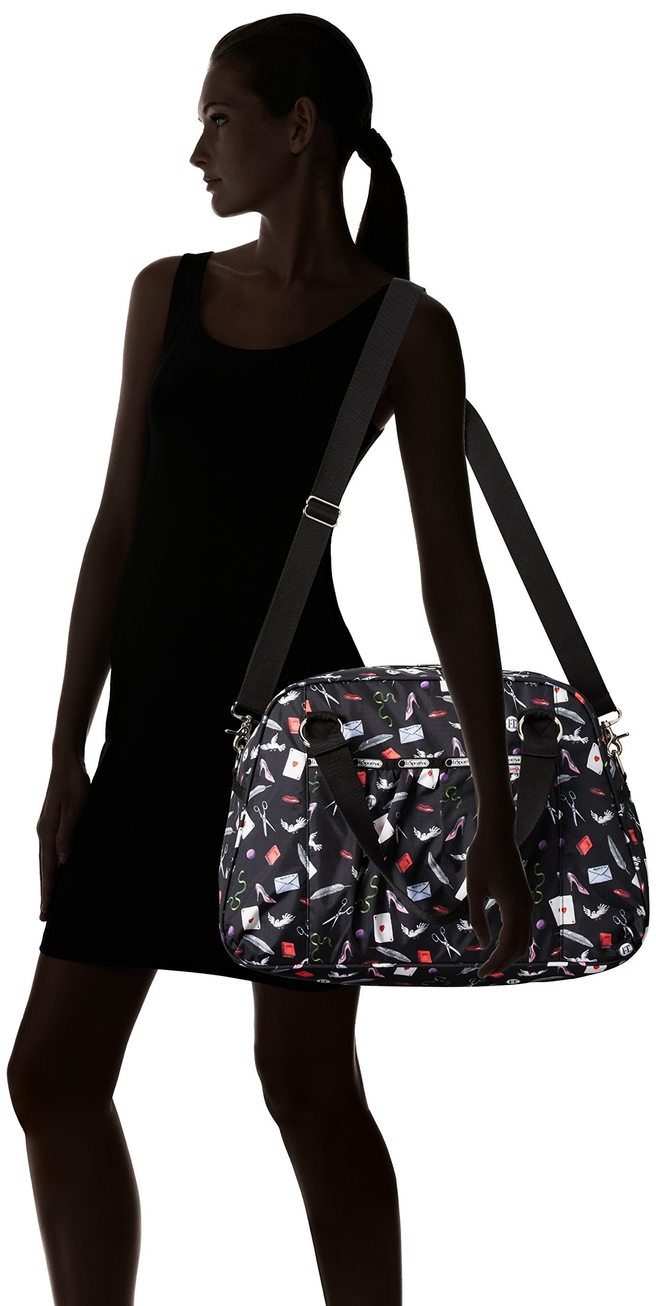 LeSportsac Abbey Carry On, Love Letters, One Size by LeSportsac (Image #6)