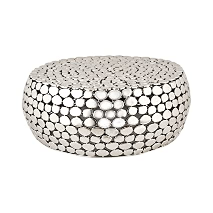 Dimond Home 8990 018 Pebble Accent Table, 28u0026quot; X 28u0026quot; ...