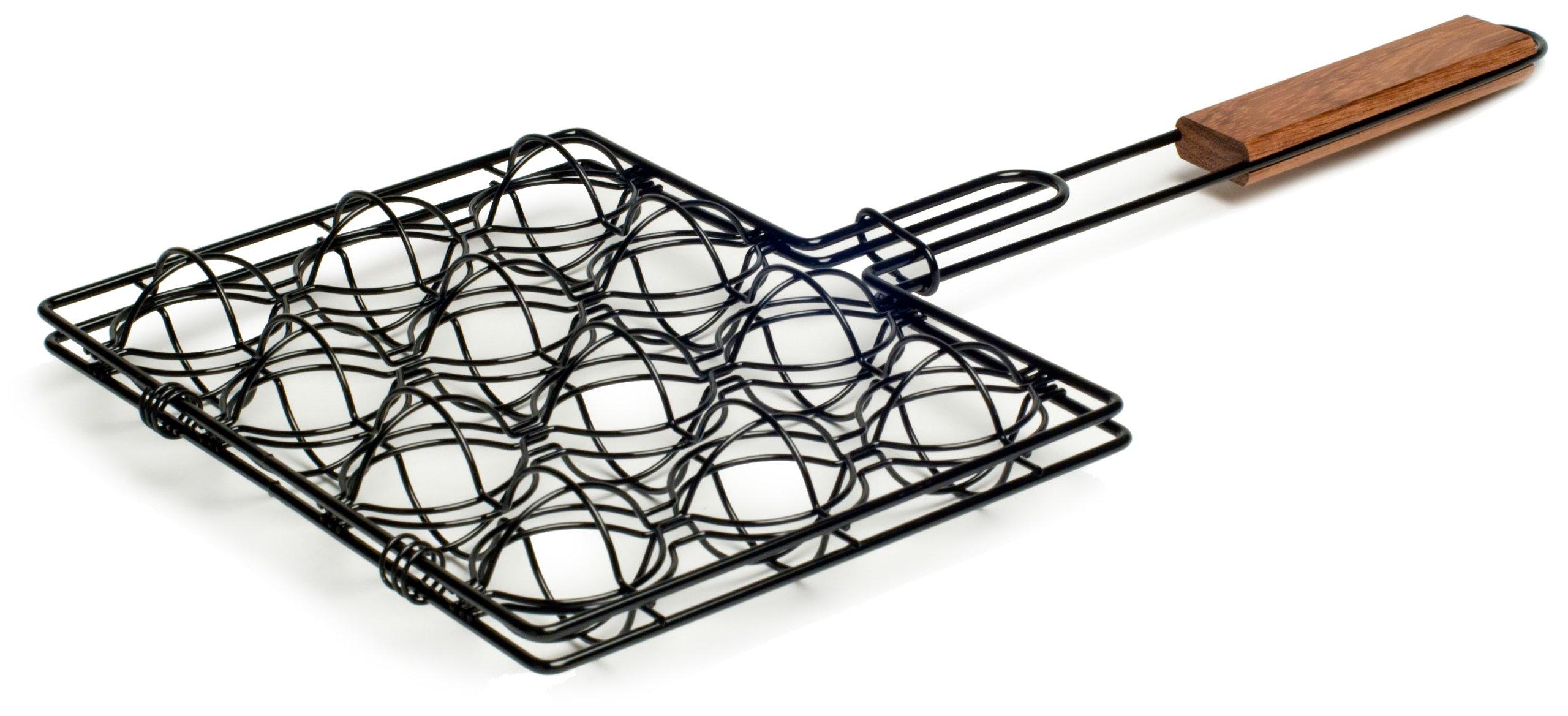 Charcoal Companion CC3504 Non-Stick Meatball Basket