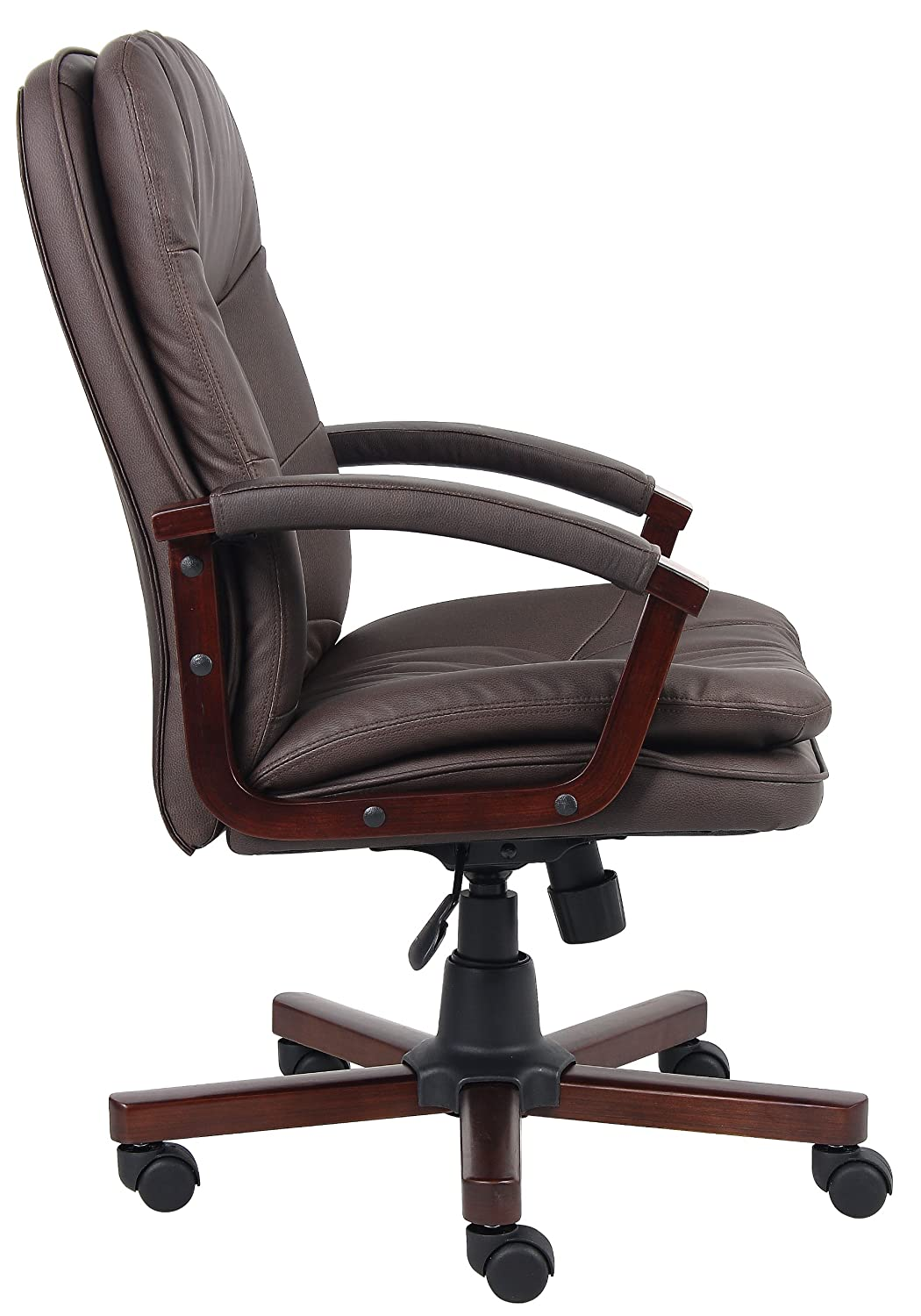 Perfect Amazon.com: Boss Office Products B796 VSBN Versailles Cherry Wood Executive  Chair In Brown: Kitchen U0026 Dining