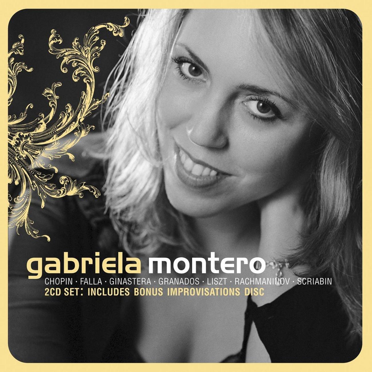 Gabriela Montero: Max 56% OFF Chopin · Cheap super special price Ginastera Falla Granados