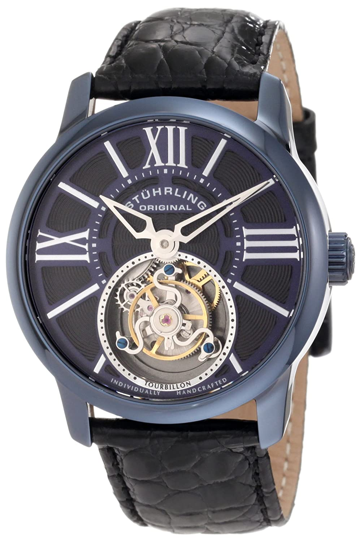 Stuhrling Original Men s 296D.33XX6 Tourbillon Viceroy Tourbillon Limited Edition Mechanical Blue Watch