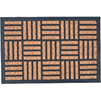 Nicola Spring Heavy Duty Door Mat - Heavy Duty Indoor Outdoor Welcome Mats - 60 x 40cm - Mosaic