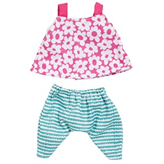 """Manhattan Toy Wee Baby Stella A Day At The Park 12"""" Baby Doll Clothing Set"""