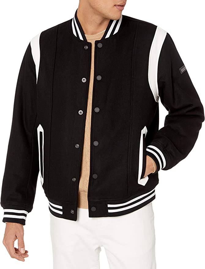 60s 70s Men's Jackets & Sweaters A|X Armani Exchange Mens Zip Up Jacket with Rib Detail $186.40 AT vintagedancer.com