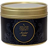 Shearer Candles SC0491 Bougie dans petite boîte Victorian Winter en métal Noir