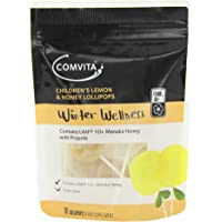Comvita Children's Lemon & Honey Lollipops x10