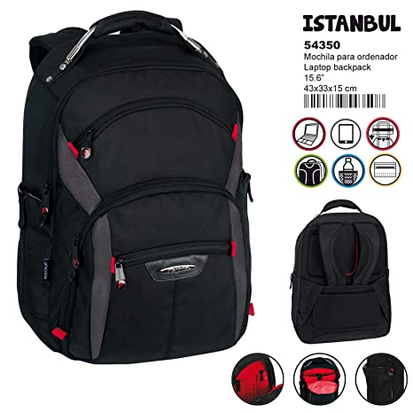 Amazon.com : Perona Business Stambul Laptop Backpack 44cm : Office Products