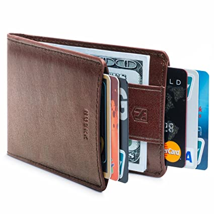 d66795a2376 Slim Card Holder Front Pocket Wallet - Money Clip - Minimalist ...