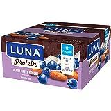LUNA PROTEIN - Gluten Free Protein Bar - Berry Greek Yogurt - (1.59 Ounce Snack Bar, 12 Count)