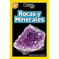 Libros para niños sobre rocas y minerales