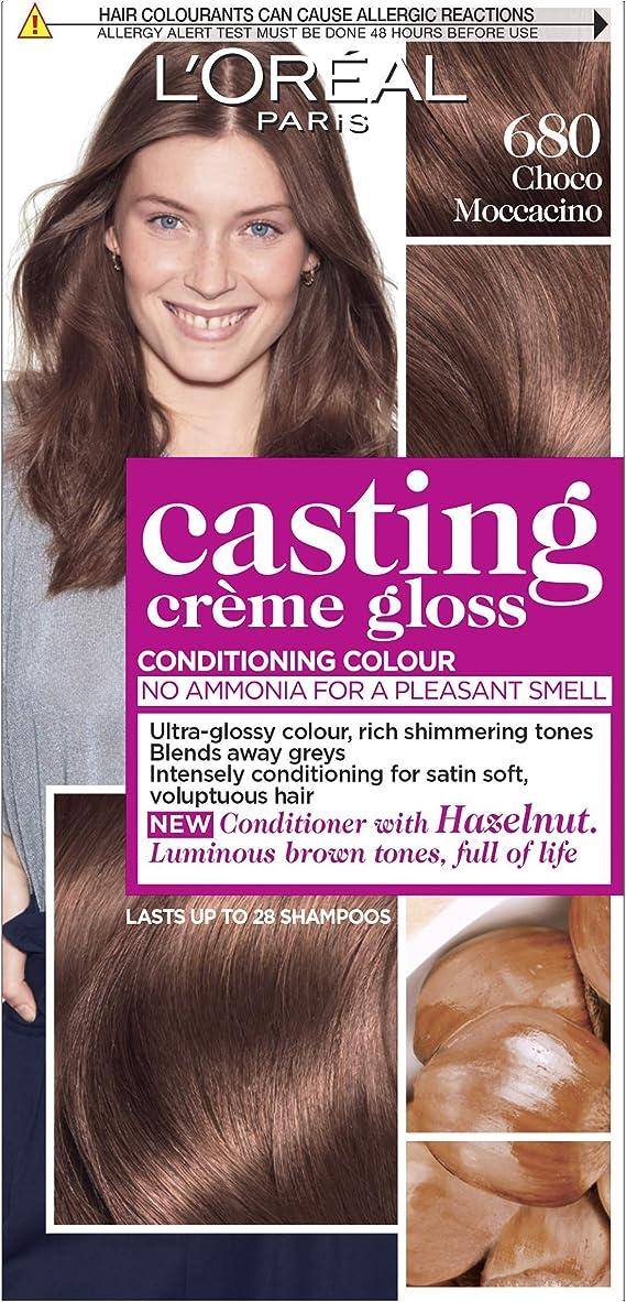 LOreal Gloss Choco Moccacino 680 - Tinte semipermanente para el cabello