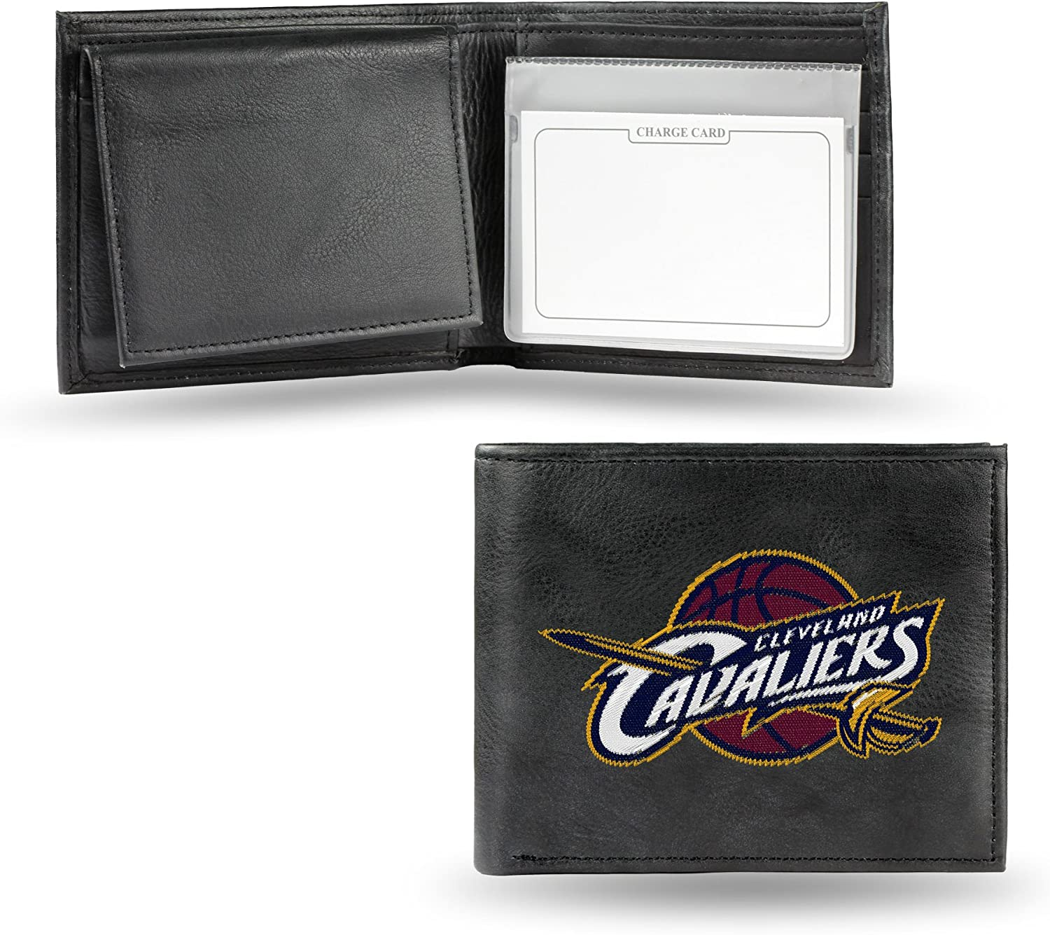 Rico Industries NBA Boston Celtics Embroidered Leather Billfold Wallet
