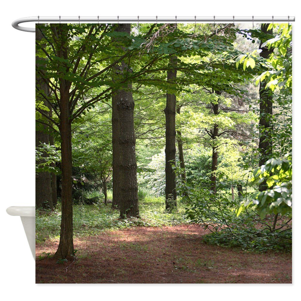 Amazon CafePress Walk In The Woods Decorative Fabric Shower Curtain 69x70 Home Kitchen