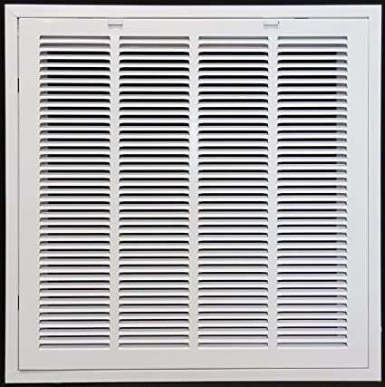 24\u0026quot; X 24 Steel Return Air Filter Grille for 1\u0026quot; Filter - Removable Face  sc 1 st  Amazon.com & 24\