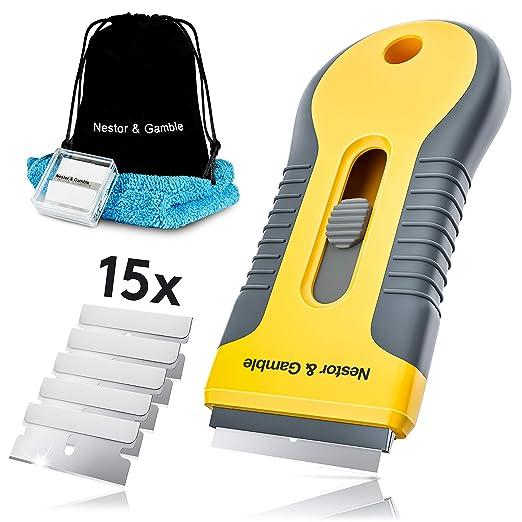 Nestor & Gamble | Raspador para vitrocerámica + 11 cuchillas ...