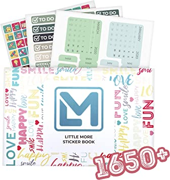 Amazon.com: Little More Happy Planner Stickers – 1650+