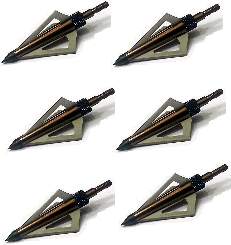 Muzzy Bowhunting Crossbow Broadheads 3 Blade 125 Grain 6 Pack