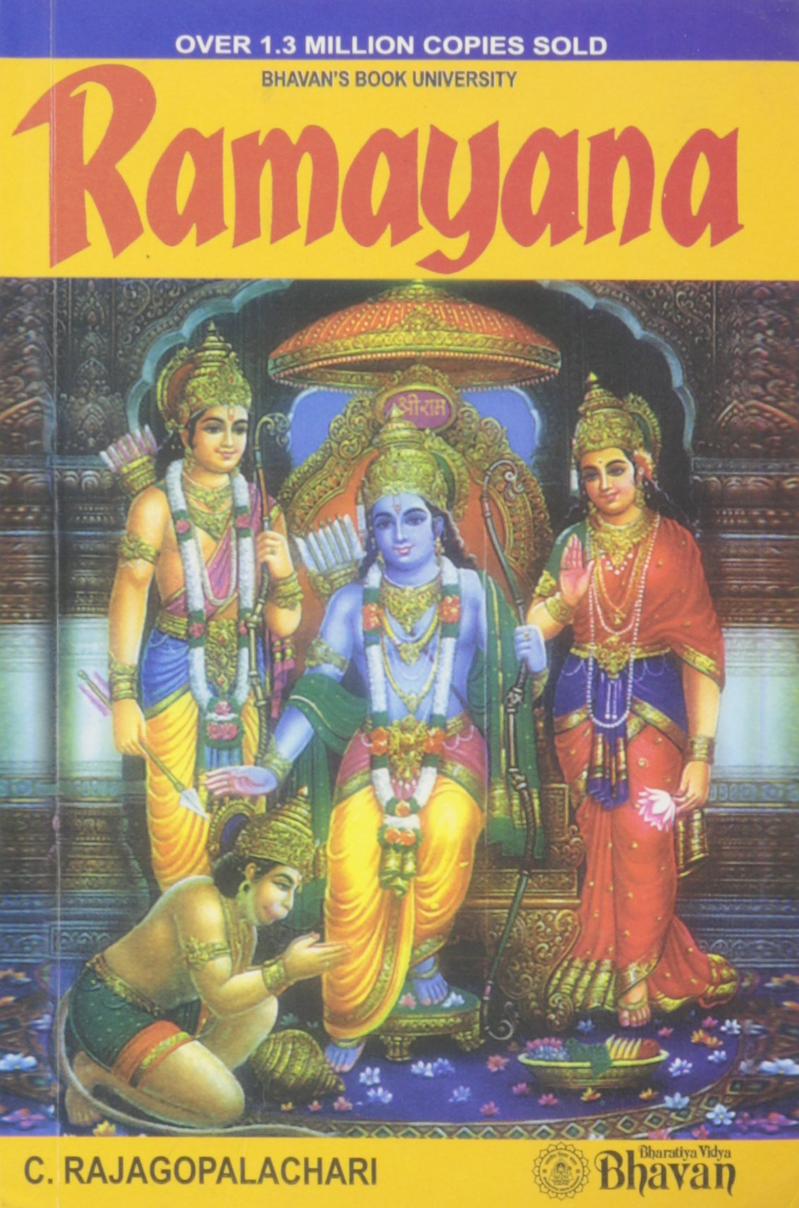 Ramayana: C  Rajagopalachari: 9788172763657: Amazon com: Books