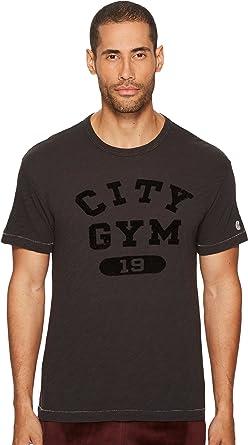 b02c12d0 Todd Snyder + Champion Men's City Gym T-Shirt, Black Noir, XXL ...