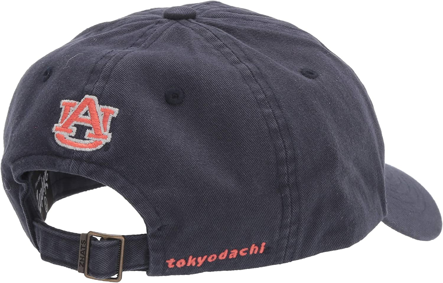 Adjustable Primary Team Color NCAA Zephyr Auburn Tigers Mens Katsu Relaxed Hat