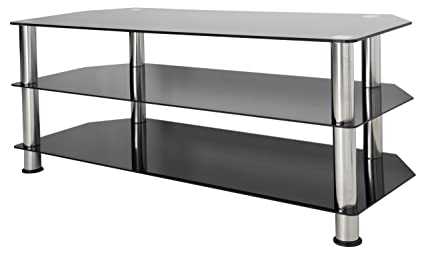 Amazoncom Avf Sdc1140 A Tv Stand For Up To 55 Inch Tvs Black
