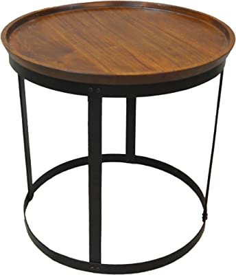 Carolina Chair & Table P2224-CHETBK Parker Accent Table