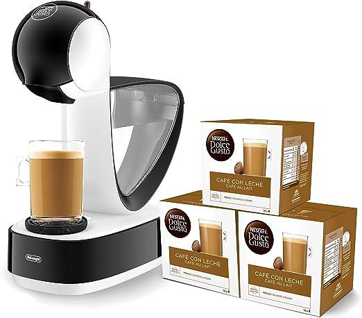 Pack DeLonghi Infinissima EDG260.W - Cafetera de cápsulas Nestlé ...