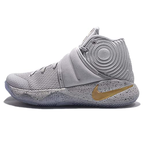 finest selection 2bbdc f5f05 Nike Men s Kyrie 2 EP, WOLF GREY METALLIC GOLD-BLACK, 10.5 M