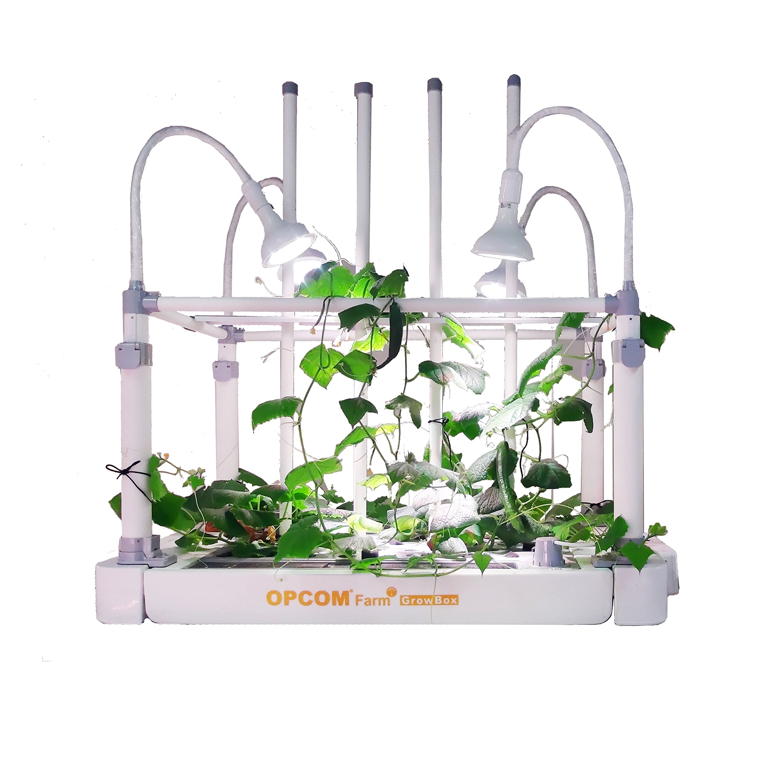 OPCOM® Farm GrowBox (High Capacity, Hydroponics, indoor garden & farm, greenhouse,Growing herb, vegetable, flower, fruit)