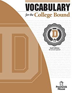 Amazon vocabulary for the college bound student 9781567651041 vocabulary for the college bound book d fandeluxe Choice Image