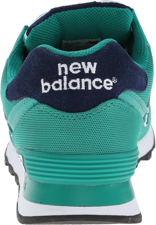New Balance 574 Pique Polo Pack, Zapatillas para Hombre, Verde, 43 ...