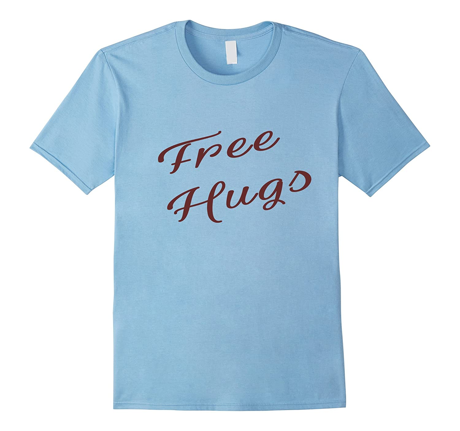 Free Hugs T-Shirt Peace Love and Happiness free bear hug tee