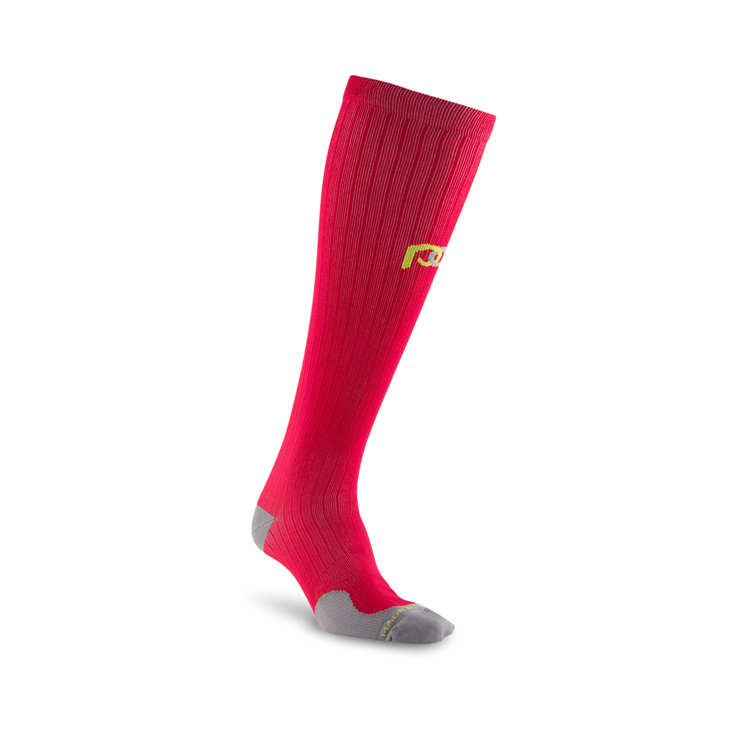 PRO Compression: Marathon (Full-Length, Over-the-Calf) Compression Socks, Red, X-Small by PRO Compression