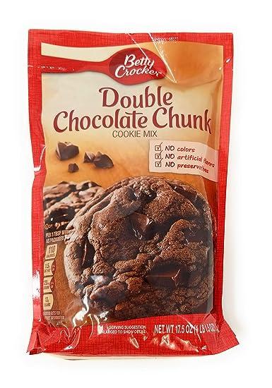 Mezcla de galletas Betty Crocker doble de chocolate, 1.60 oz ...