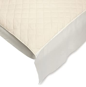 bargoose natural cotton top portable mattress protector by