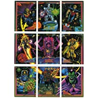Marvel Universe Series 4 Complete 180 Card Trading Card Base Set (1993)
