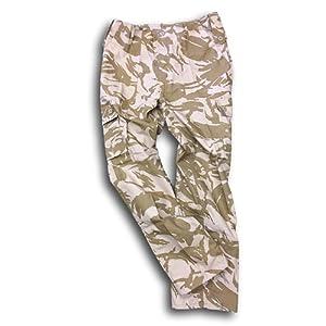 Armée Britannique, camouflage de désert, veste de combat et un pantalon. Offre spéciale