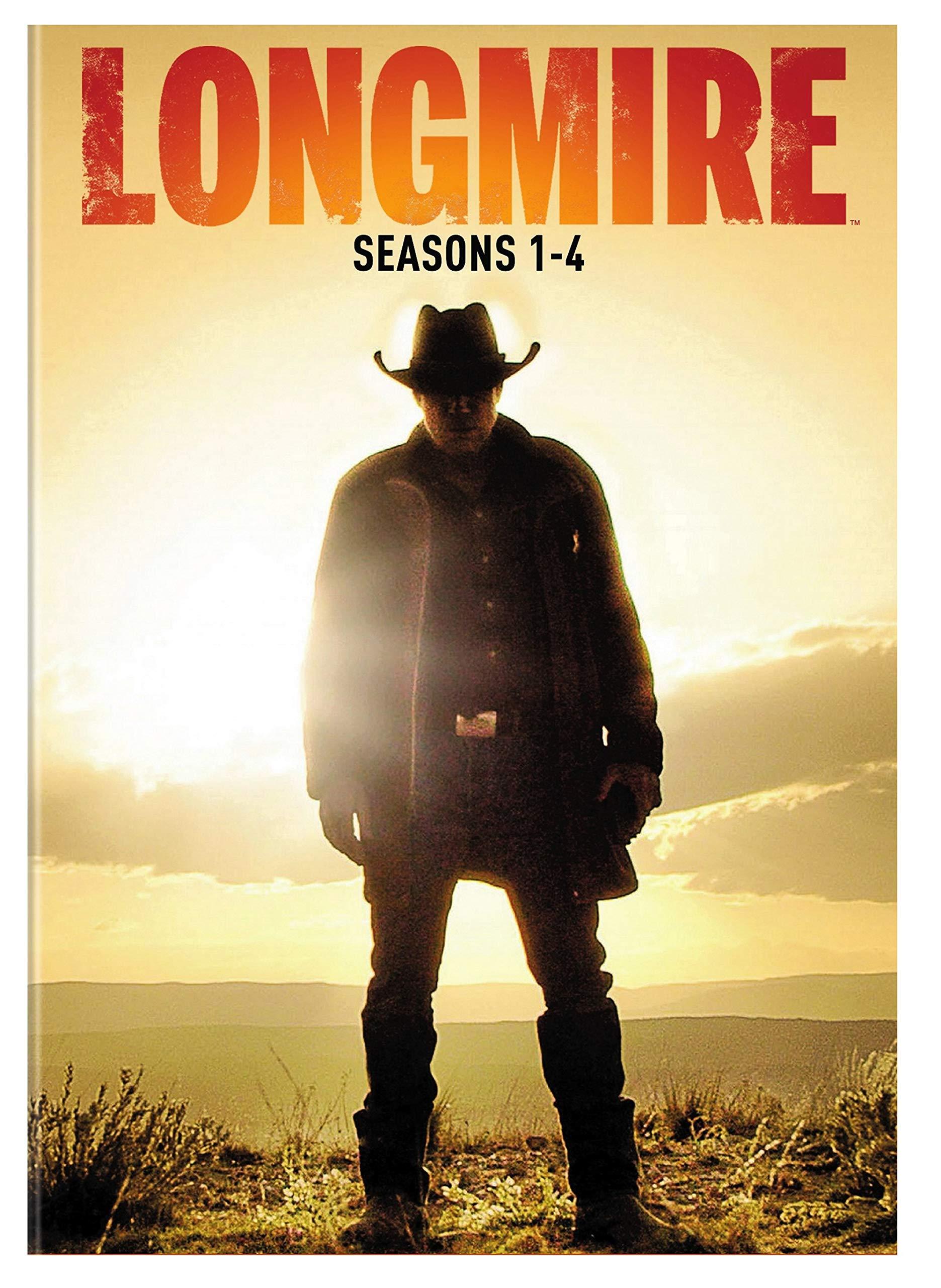 DVD : Longmire: Seasons 1-4 (Boxed Set)